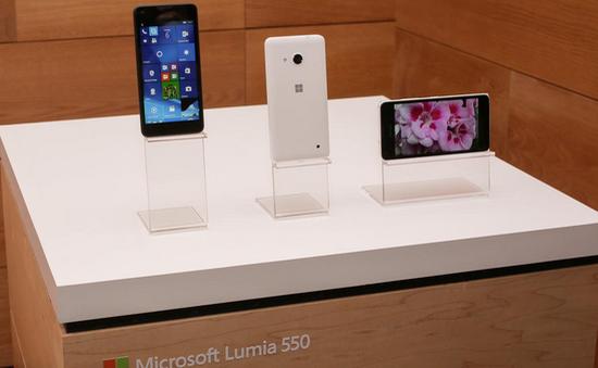 Lumia 550 chính thức trình làng với giá hơn 3 triệu đồng