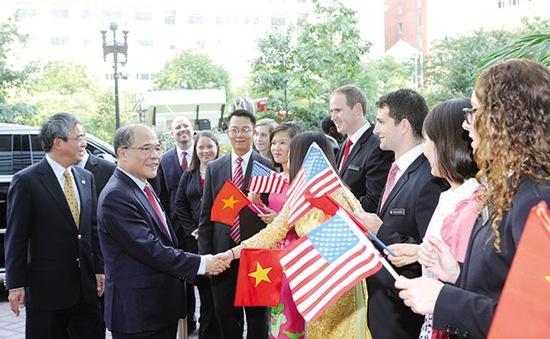 Những dấu ấn từ chuyến thăm Hoa Kỳ của Chủ tịch Quốc hội Nguyễn Sinh Hùng