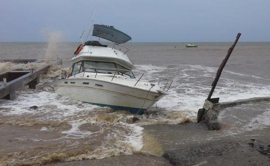 Hoành hành tại Dominica , bão nhiệt đới Erika hướng tới Mỹ