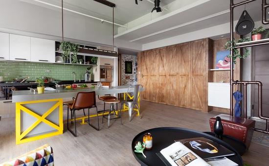 Ngỡ ngàng với căn hộ chung cư tuyệt đẹp ở Đài Loan