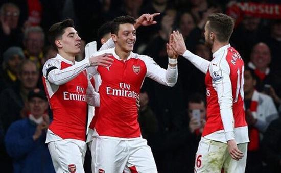 Đoạt ngôi vô địch lượt đi, Arsenal có cơ hội lên ngôi cuối mùa?