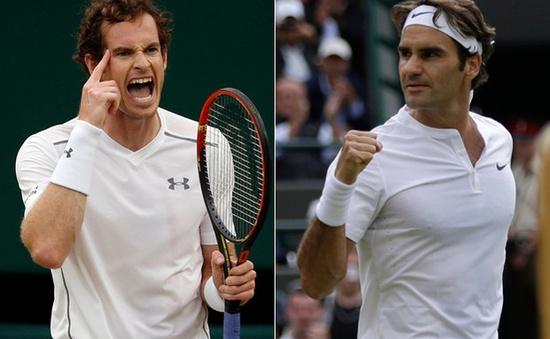 Vương quốc Anh, Murray và trận đại chiến với Fededer: Đáng xem nhưng có khó đoán?