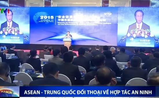 ASEAN - Trung Quốc đối thoại về hợp tác an ninh