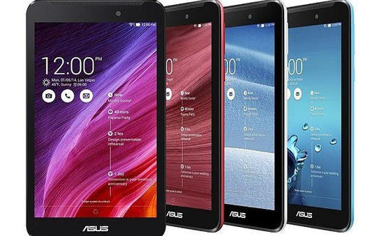 ASUS Fonepad 7: Cải tiến mới cùng thiết kế mới