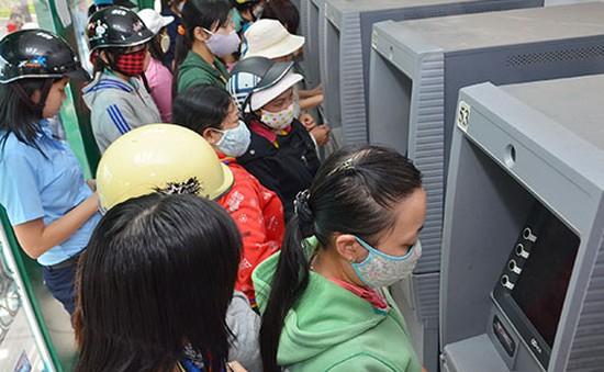 Máy ATM tại nhiều khu công nghiệp bị hết tiền