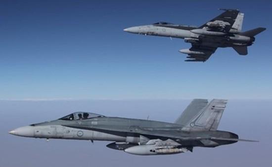 Australia lần đầu không kích IS tại Syria