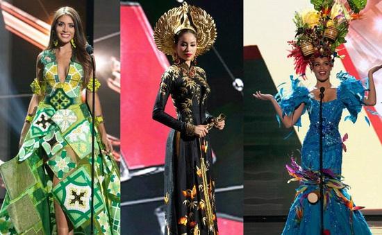 Hoa hậu Hoàn vũ 2015: Phạm Hương sang trọng, quyền quý trong tà áo dài