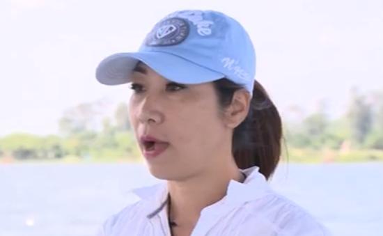 Nữ trọng tài hiếm hoi của đua thuyền Việt Nam