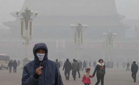Bắc Kinh ra cảnh báo màu cam về ô nhiễm môi trường