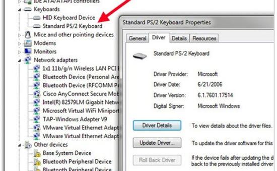 Chẩn đoán và khắc phục bàn phím hỏng trên laptop