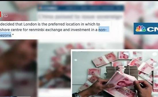 Trung Quốc phát hành trái phiếu, đẩy mạnh quốc tế hoá đồng NDT