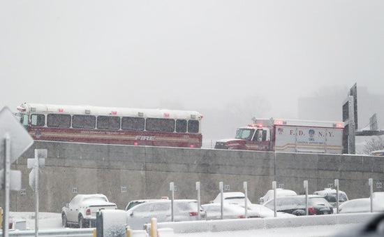 Bão tuyết dữ dội xảy ra tại Mexico