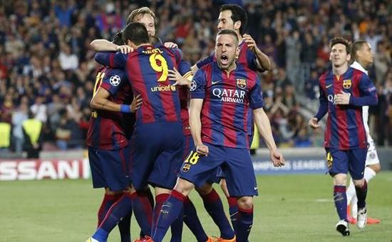 Barcelona áp đảo trong đội hình UEFA tiêu biểu của năm