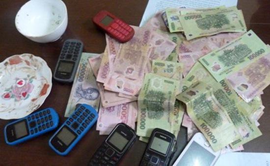 Lạng Sơn: Triệt phá ổ đánh bạc lớn dưới hình thức xóc đĩa
