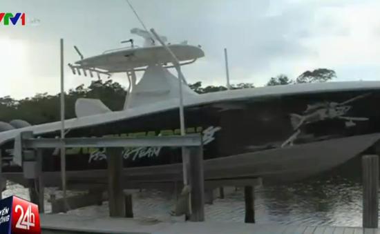 Trộm thuyền bị cảnh sát truy đuổi hơn 20 tiếng trên biển