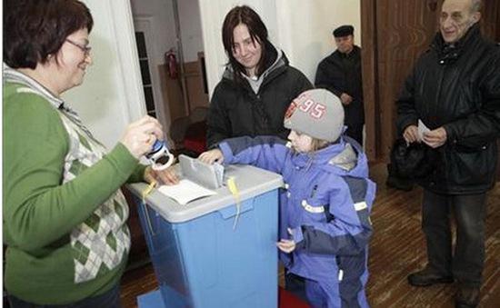 Hôm nay (01/3), bầu cử quốc hội Estonia