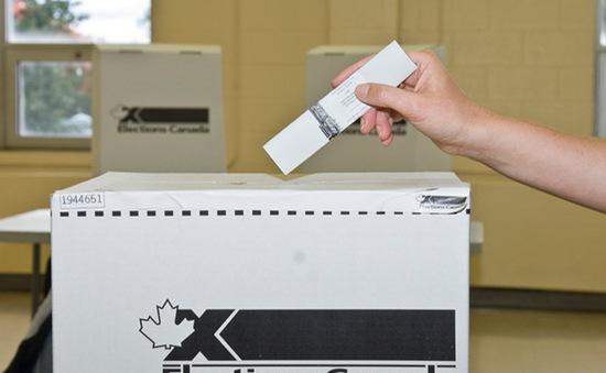 Canada tiến hành tổng tuyển cử