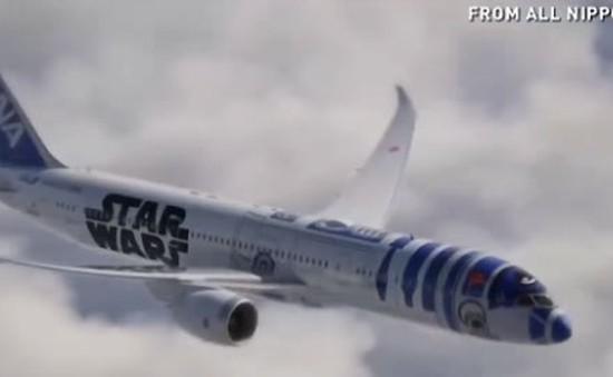 Hãng hàng không ANA Nhật Bản ra mắt máy bay Star Wars