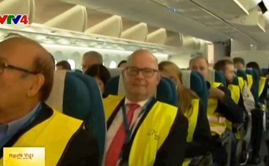 Vietnam Airlines đưa Boeing 787-9 Dreamliner vào khai thác đường bay tới Đức