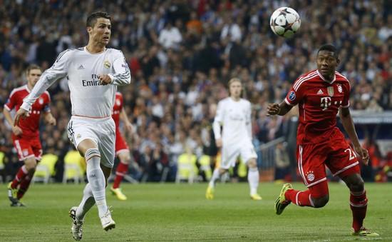 Real Madrid và Bayern Munich dẫn đầu top 10 CLB mạnh nhất châu Âu