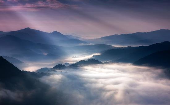Quang cảnh núi đẹp huyền ảo như tranh vẽ ở Ba Lan