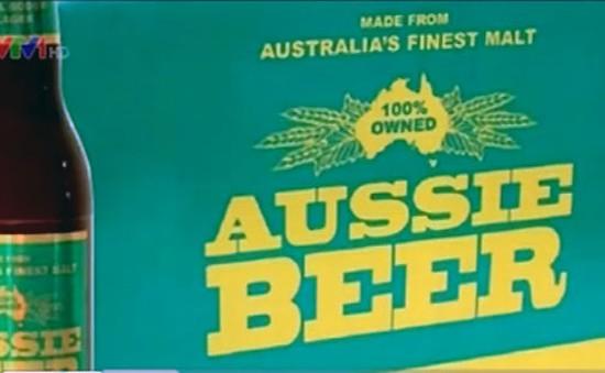 Bia Australia bị phạt vì sai nguồn gốc xuất xứ