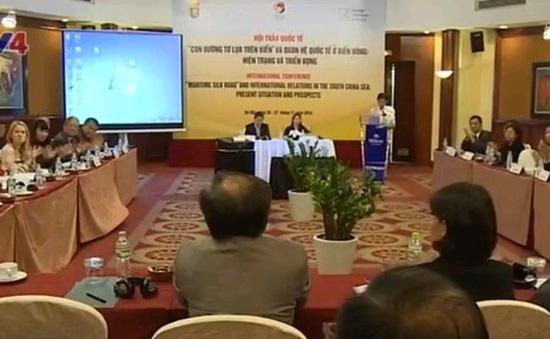 """Hội thảo quốc tế: 'Con đường tơ lụa trên biển"""" và quan hệ quốc tế ở Biển Đông"""