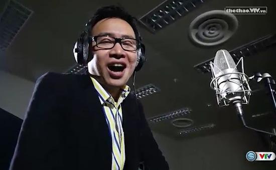 BLV Biên Cương lần đầu khoe giọng hát cùng đồng nghiệp