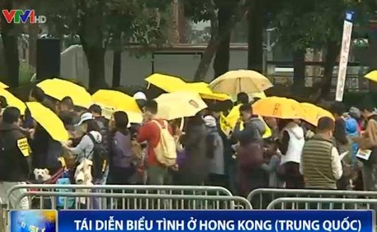 Trung Quốc: Tái diễn biểu tình ở Hong Kong