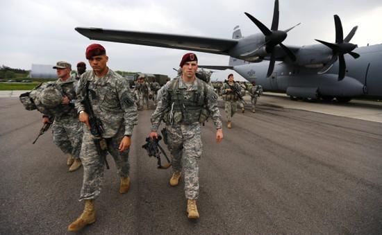 Mỹ chính thức huấn luyện cho binh lính Ukraine