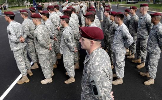 Ukraine cho phép binh sĩ nước ngoài tới tham gia tập trận chung