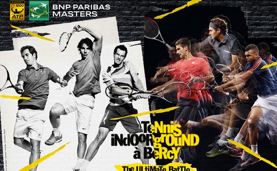 VTVcab phát sóng trực tiếp giải quần vợt Paris Masters 2015