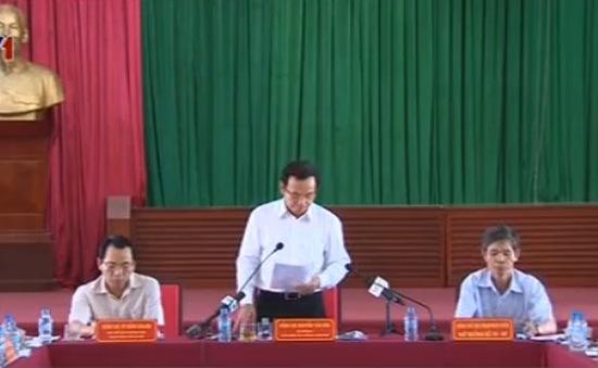 Bộ trưởng Nguyễn Văn Nên tiếp công dân tại Hà Nội