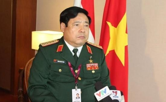 Bộ trưởng Phùng Quang Thanh dự Đại hội Đảng bộ Bộ Tổng tham mưu