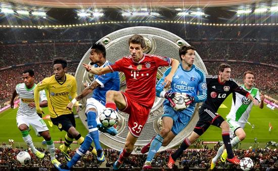 VTVcab phát sóng trực tiếp giải Vô địch quốc gia Đức (Bundesliga)
