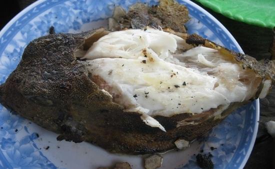 Cá bò hòm nướng - Thượng phẩm vùng biển Nha Trang