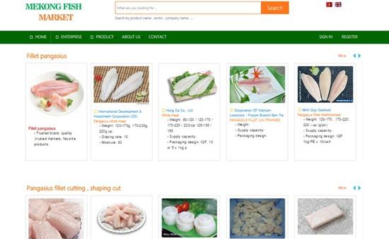 Ra mắt trang web về xuất khẩu cá tra