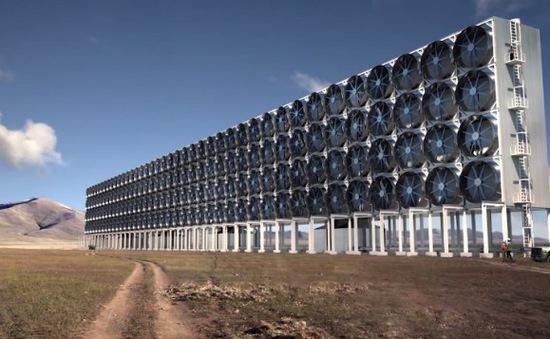 Chế tạo nhiên liệu từ khí CO2 trong không khí