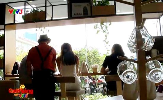 Thú vị quán cafe tự phục vụ