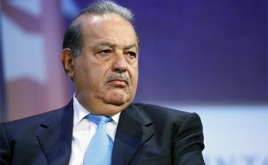 Tỷ phú Carlos Slim mất 20 tỷ USD trong năm 2015