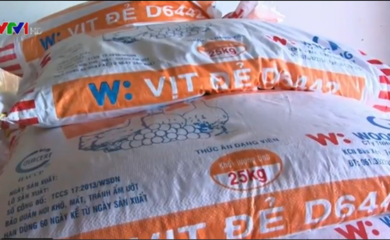 Xuất hiện loại 'cám trộn đá' ở Bình Thuận