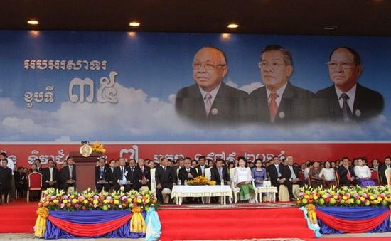 Campuchia mít tinh kỷ niệm 36 năm giải phóng khỏi thảm họa diệt chủng Pol Pot