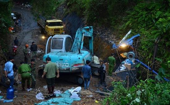 300 người tham gia cứu nạn vụ sập hầm than tại Hòa Bình