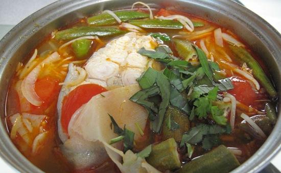 Cá vồ chó nấu chua: Đặc sản tỉnh Cà Mau
