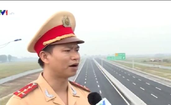 Tăng cường ngăn chặn ném đất, đá trên cao tốc Hà Nội - Hải Phòng