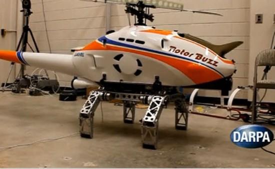 Thử nghiệm chân robot cho máy bay trực thăng