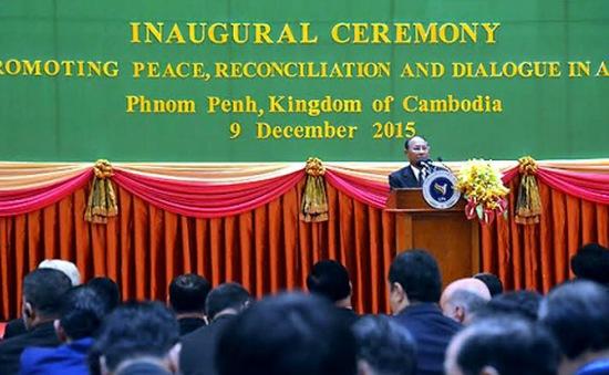 Khai mạc hội nghị Hội đồng Liên Nghị viện châu Á tại Campuchia