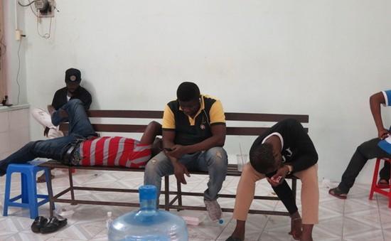 TP.HCM xử lý người nước ngoài gốc châu Phi không giấy tờ hợp lệ