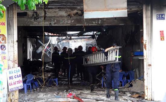 TP.HCM: Hỏa hoạn tại quán ăn, hai mẹ con thiệt mạng
