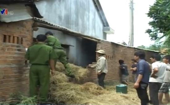 Phú Yên: 2 cháu bé chết thương tâm do hỏa hoạn